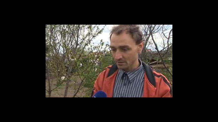 Video Vedoucí chropyňského odboru výstavby a životního prostředí Jiří Pospíšil o odebírání vzorků