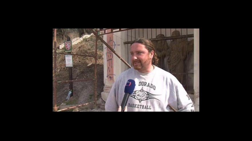 Video Řemeslník Aleš Strobl o opravě kapličky