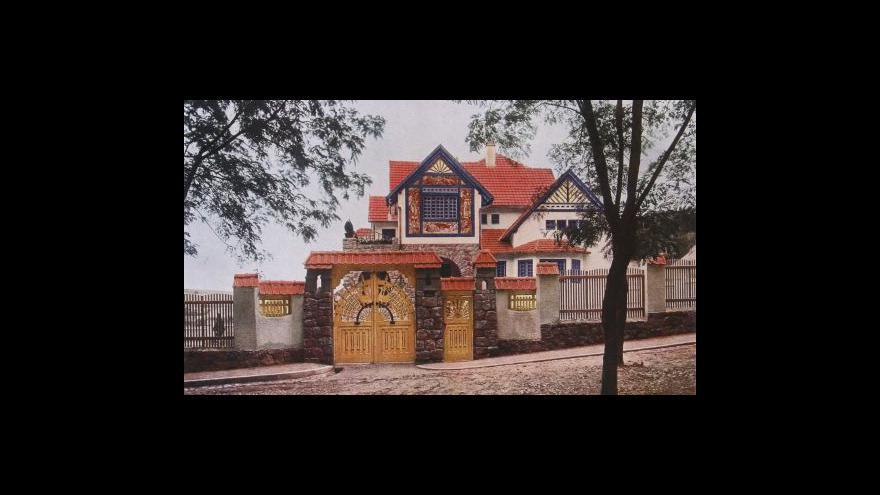 Video NO COMMENT: procházka Jurkovičovou vilou v době rekonstrukce