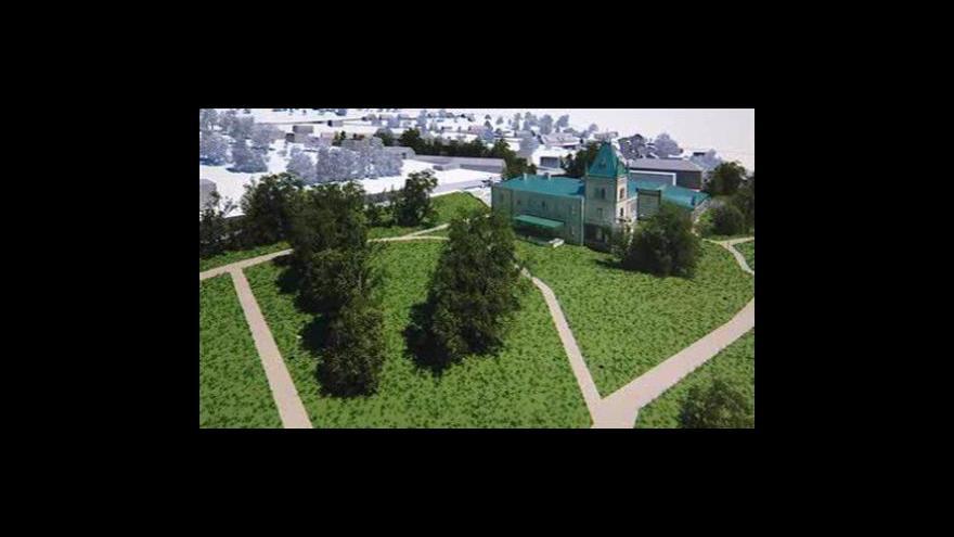 Video Starosta Přílep Rudolf Solař o rekonstrukci zámku