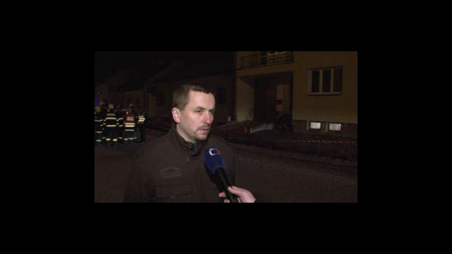 Video Mluvčí policie Petr Zámečník o výbuchu