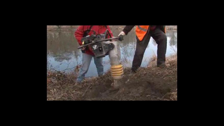 Video Ladislav Vágner z Povodí Moravy o opravě hrází