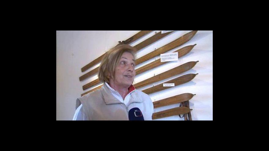 Video Majitelka exponátů Blanka Andělová o výstavě