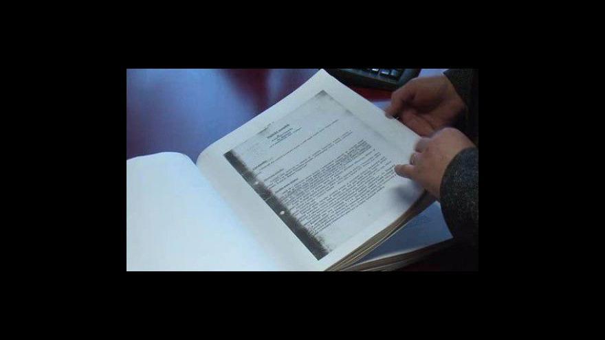Video NO COMMENT: Velešičtí mají hotovou jedinou kroniku z roku 1999