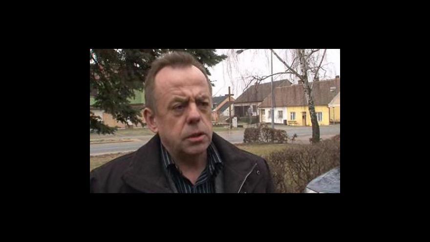 Video Starosta Bořetic Václav Surman o problémech se sklepy