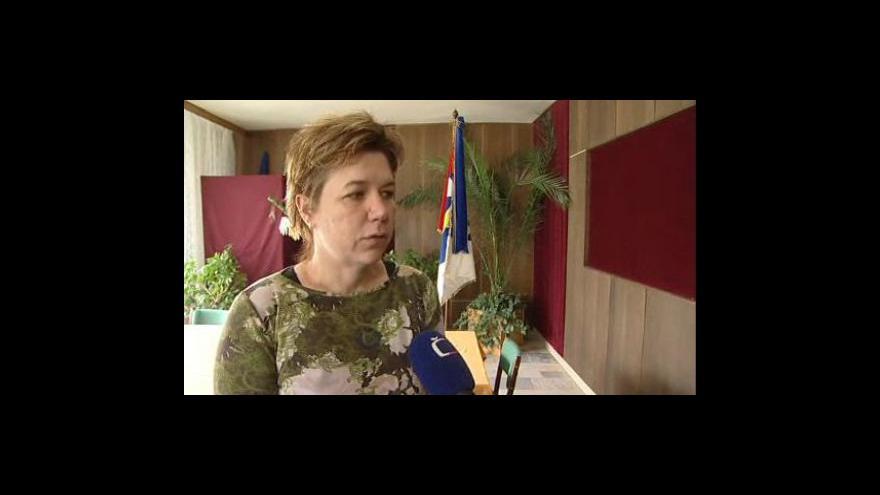 Video Starostka Starého Petřína Jana Kovářová o obavách místních obyvatel