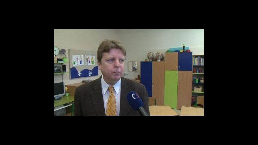 Video Ředitel zařízení Petr Hanák o havarijním stavu budovy školy