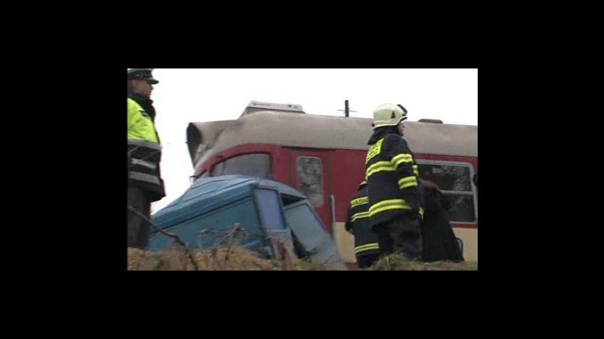 Video Nehoda na železničním přejezdu