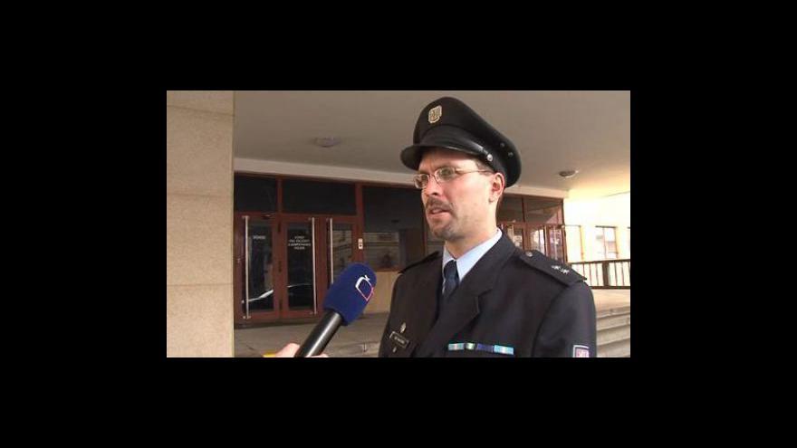 Video Mluvčí Policie ČR Pavel Šváb o přepadení spořitelny