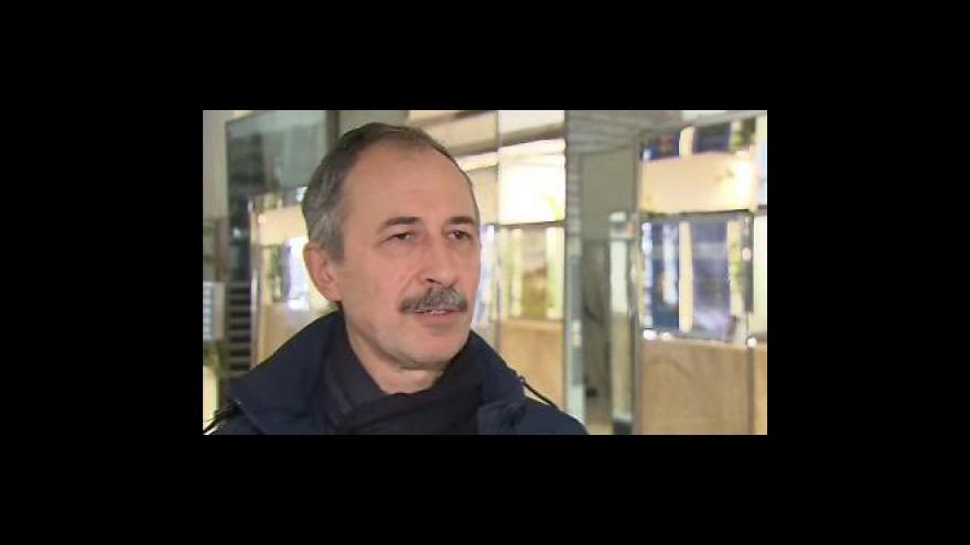 Video Šéf brněnských odborů Zetoru Alois Kazzele k nucené dovolené zaměstnanců
