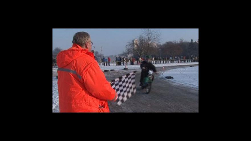 Video Plochodrážní závody na Pionýrech