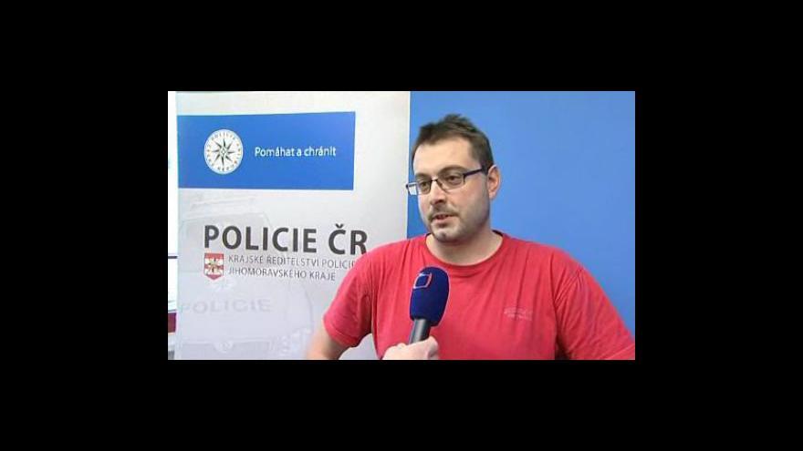 Video Vyjádření vedoucího oddělení informační kriminality jihomoravské policie Stanislava Kovárníka
