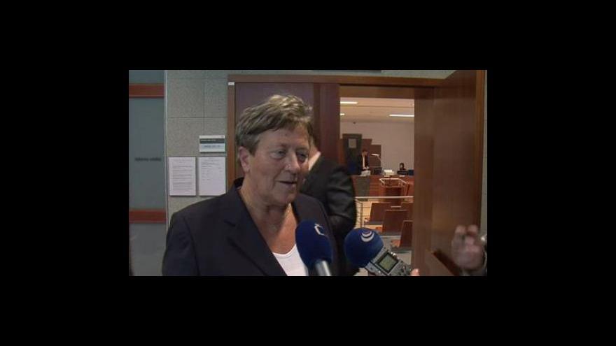 Video Bývalá starostka Dagmar Hrubá o svém trestním stíhání