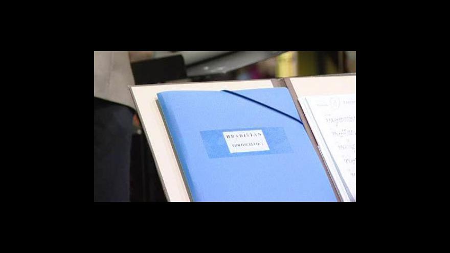 Video NO COMMENT - Zkouška Filharmonie a Hradišťanu před 1. vánočním koncertem
