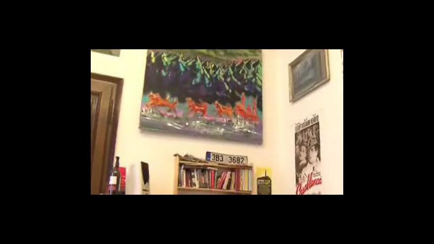 Video Organizátor výstavy Břetislav Malý o netradiční přehlídce