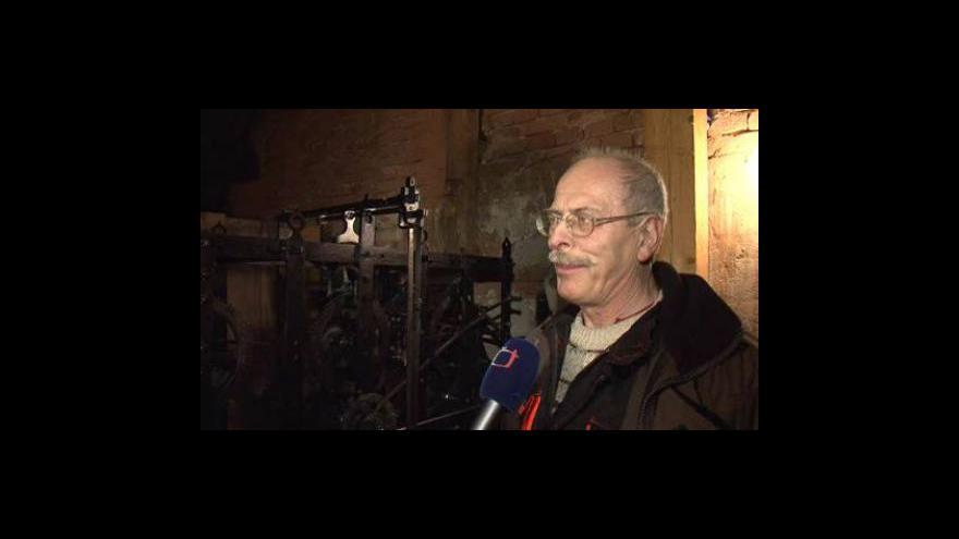 Video Hodinář Petr Skála o vanovických hodinách