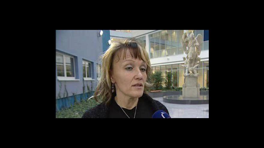 Video Dagmar Vystavělová, předsedkyně odborů Městského soudu v Brně ke stávce