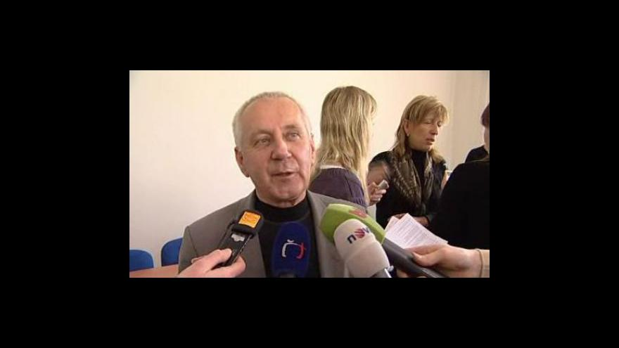 Video Zdeněk Straka, předseda školských odborů v Hodoníně, o připravované stávce