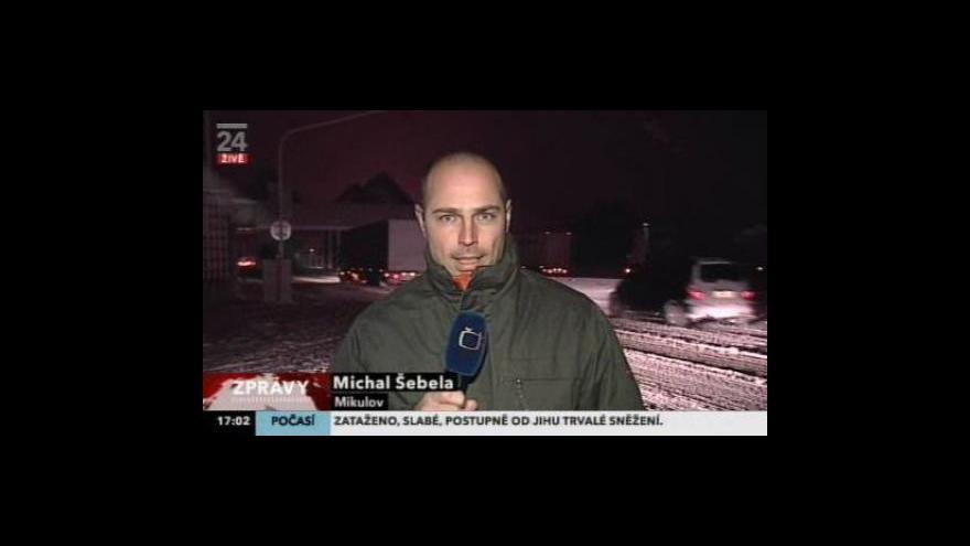 Video Vstup Michala Šebely z Mikulova (1.12.2010)