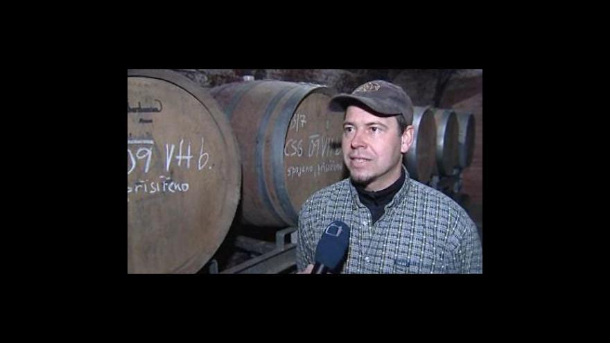 Video Vinař Stanislav Novák z Bořetic o kvalitě letošního vína
