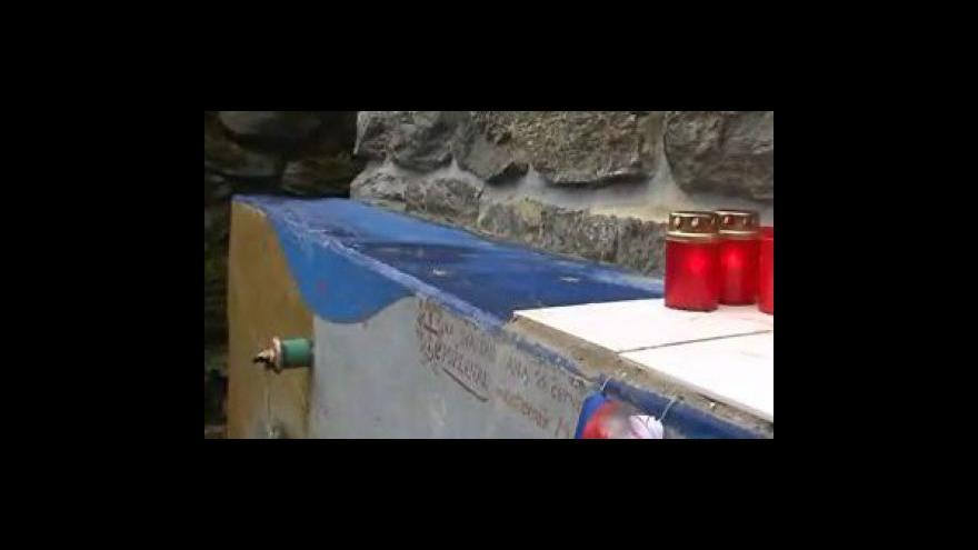 Video Ondřej Budík, zástupce vedoucího polesí, o poškozené studánce