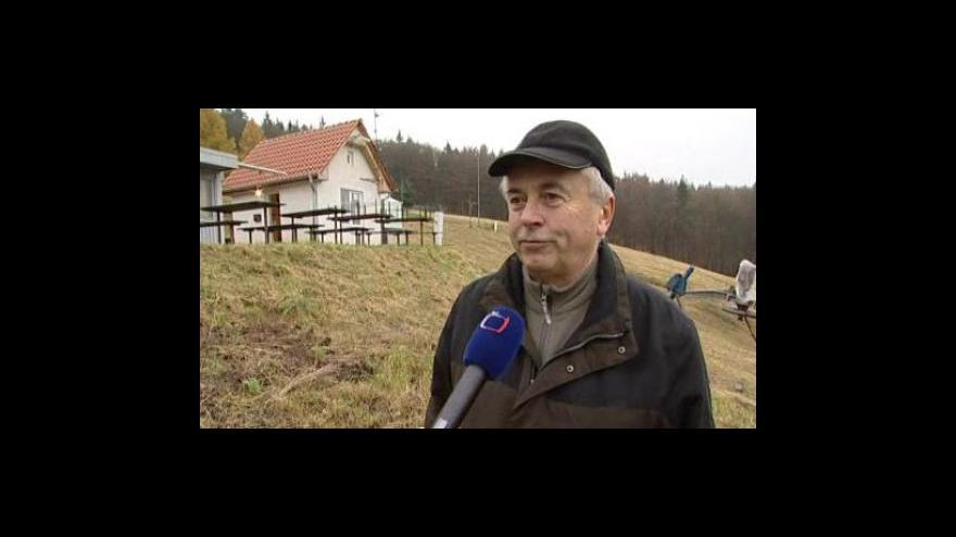 Video Starosta TJ Sokol Blansko Jiří Škaroupka o obnovení provozu sjezdovky