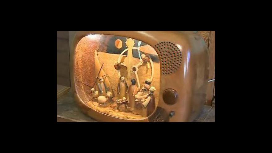 Video Řezbář Andrej Irša o vzniku ojedinělého betlému