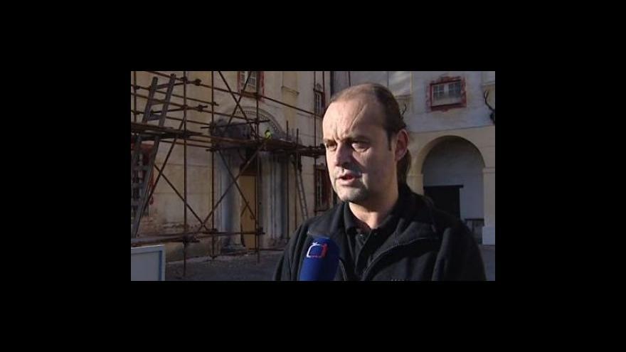 Video Kastelán Radim Štěpán o rekonstrukci kunštátského zámku