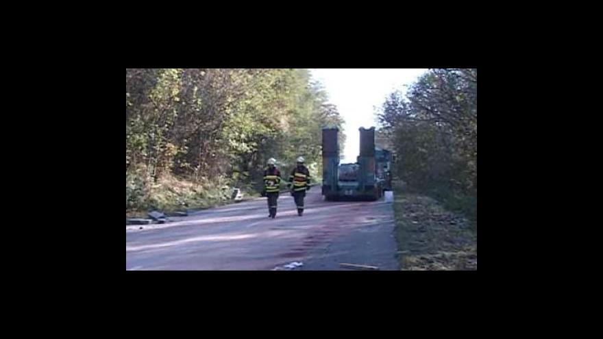 Video Nehoda mezi Židlochovicemi a Nosislaví