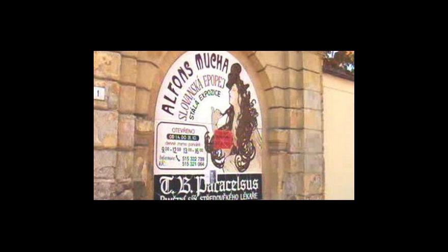 Video Z Moravského Krumlova telefonuje Tomáš Třetina