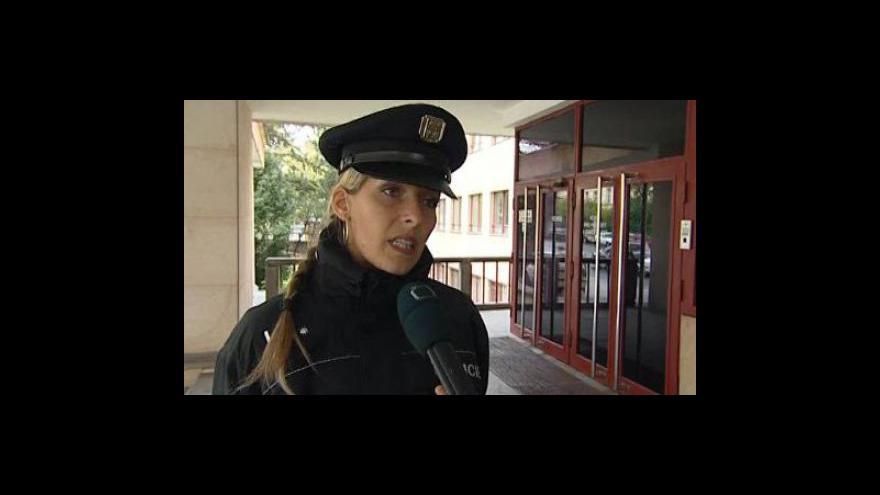 Video Vyjádření policejní mluvčí Andrey Strakové a mluvčího Krajského státního zastupitelství Hynka Olmy