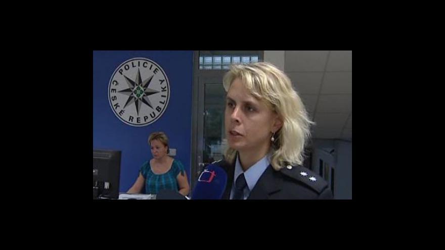 Video Mluvčí blanenské policie Iva Šebková o nálezu