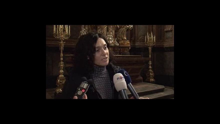Video Restaurátorka Radka Levínská o opravách Stříbrného oltáře