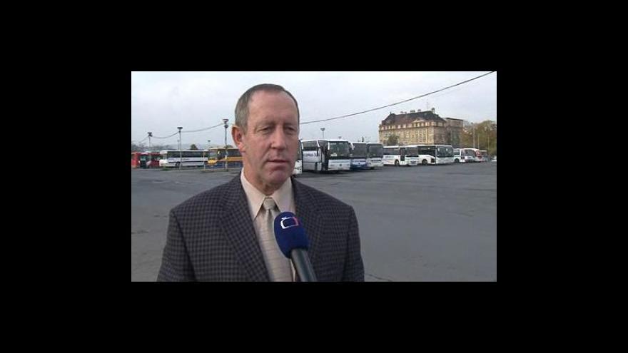 Video Řidiči a jednatel ČSAD Tišnov Ladislav Sova o placení mýtného