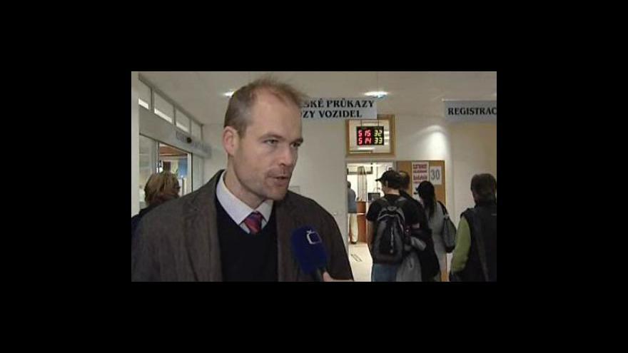 Video Mluvčí brněnského magistrátu Pavel Žára o povinné výměně starých řidičských průkazů