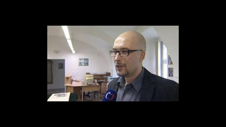 Video Ředitel Státního okresního archivu Zlín David Valůšek o dokumentech