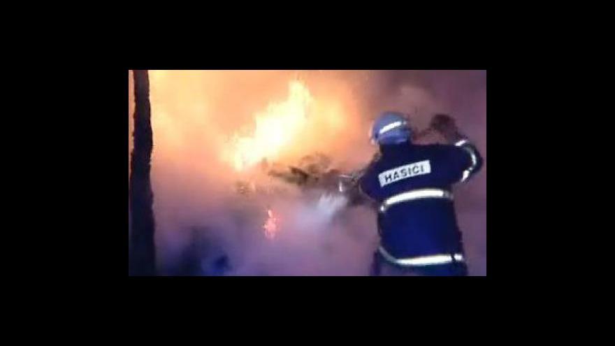 Video Tragický požár v obci Mikulůvka na Vsetínsku