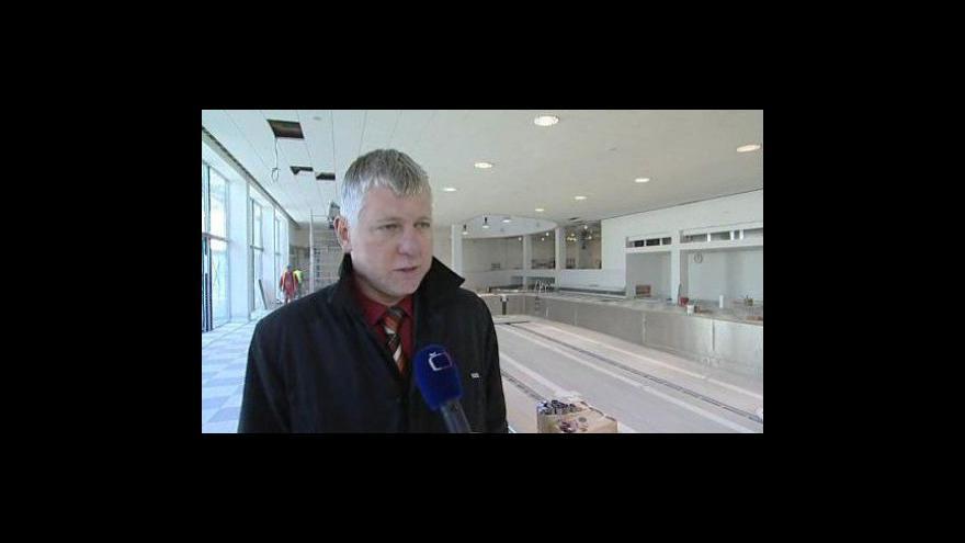 Video Starosta Luhačovic František Hubáček (ODS) k otevření nové plovárny