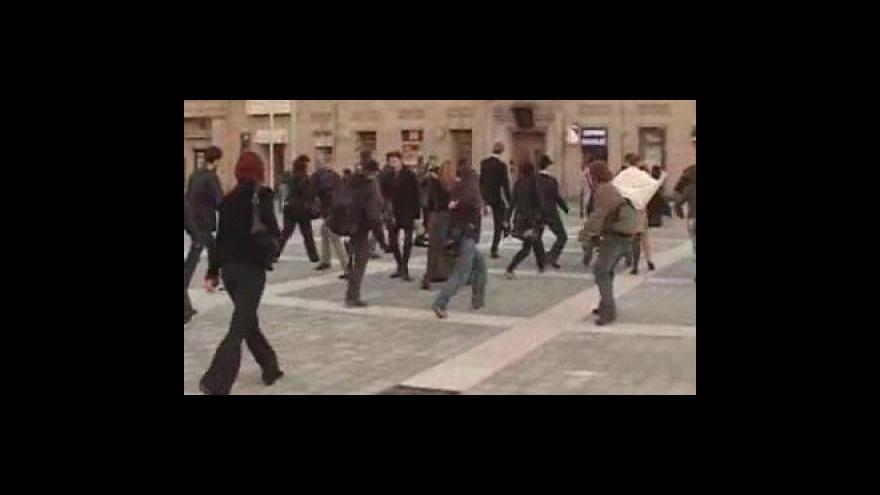 Video Švihlá chůze v Brně
