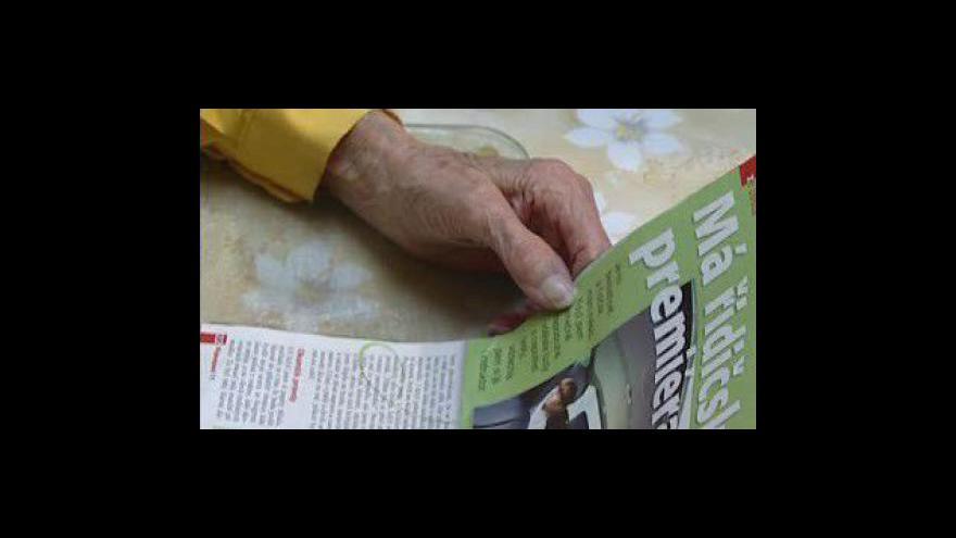 Video Nejstarší Češka - 107letá Juliana Vašíčková