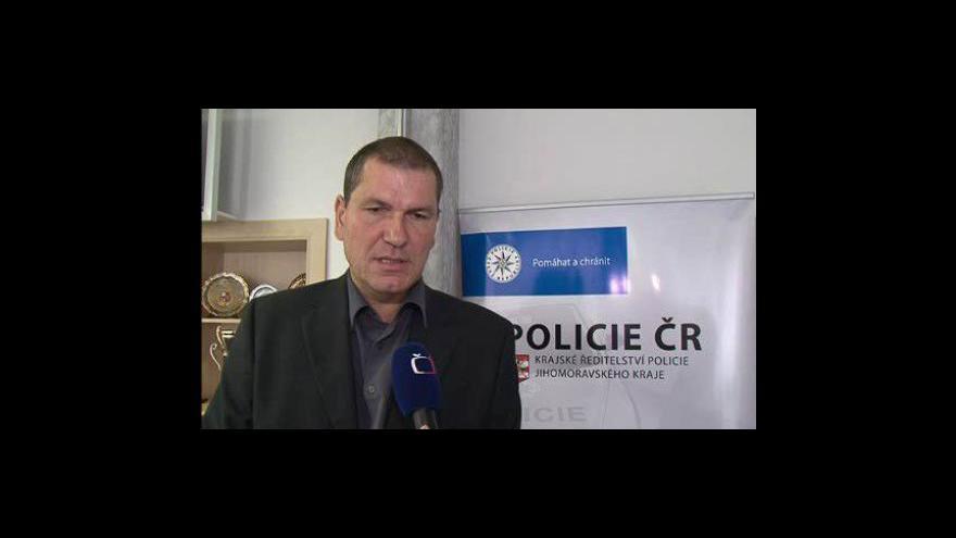 Video Vedoucí jihomoravských kriminalistů Antonín Hrdlička o zatím nevyřešené vraždě bezdomovce