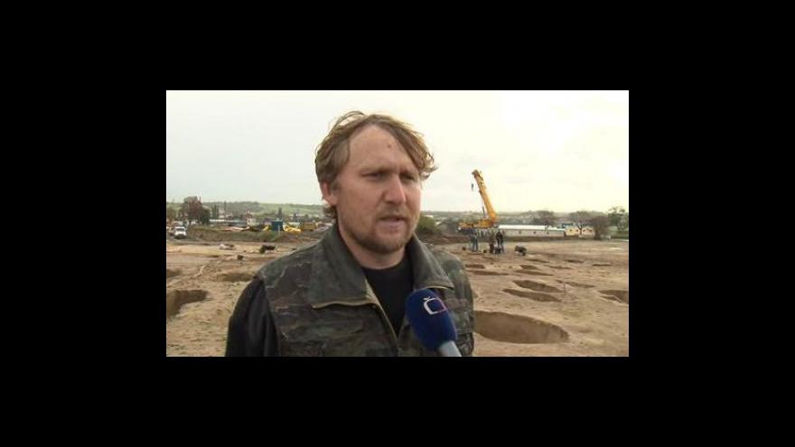 Video Archeolog Jaromír Šmerda o unikátním nálezu