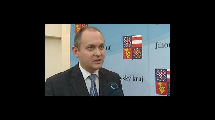 Video Vyjádření hejtmana Jihomoravského kraje Michala Haška (ČSSD)