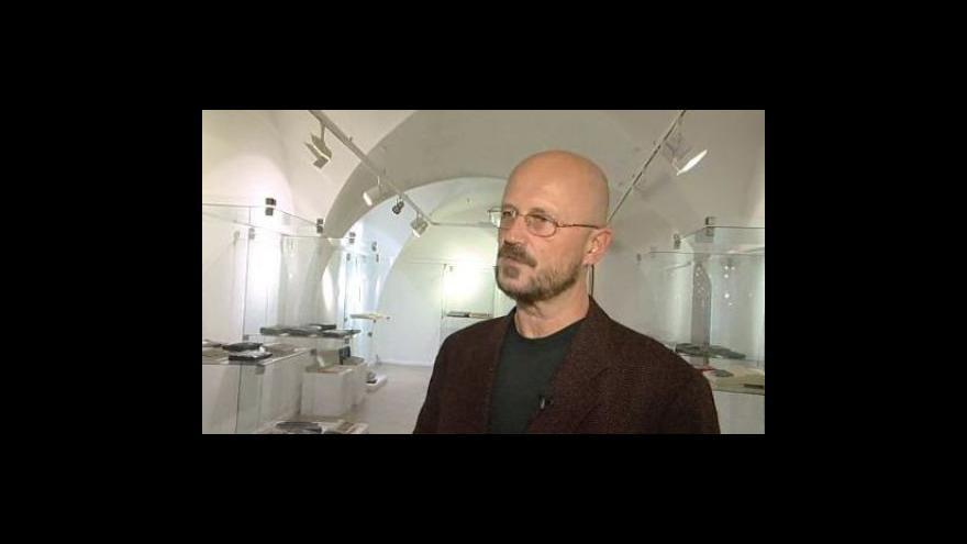 Video Jiří Stránský, ředitel Muzea Kroměřížska, o výstavě starých počítačů