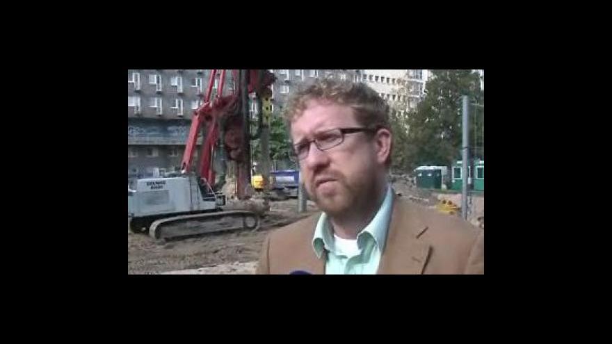 Video Martin Ander (SZ), náměstek brněnského primátora, o aroganci stavebníka