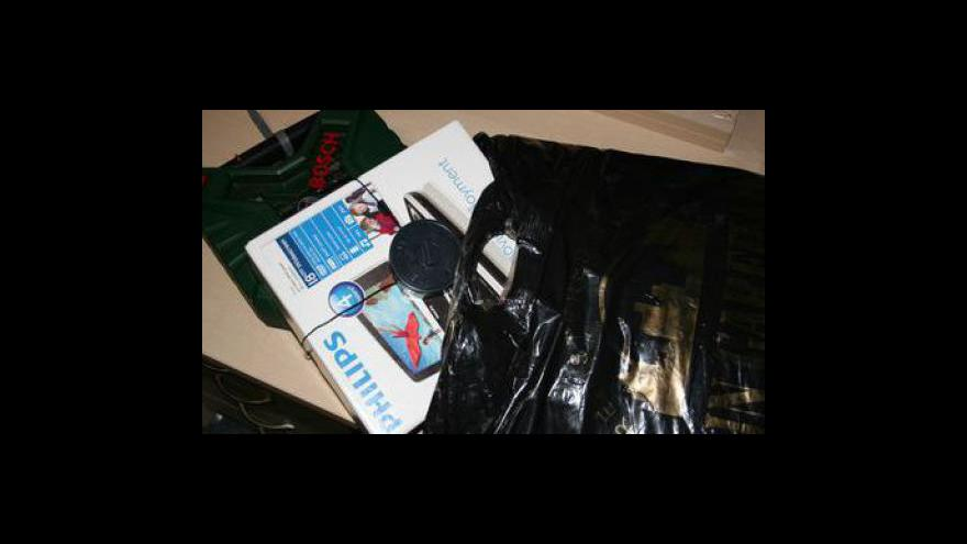 Video Bohumil Malášek, mluvčí brněnské policie, o krádežích pomocí upravené tašky