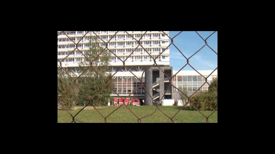 Video Zásah hasičů v bohunické nemocnici