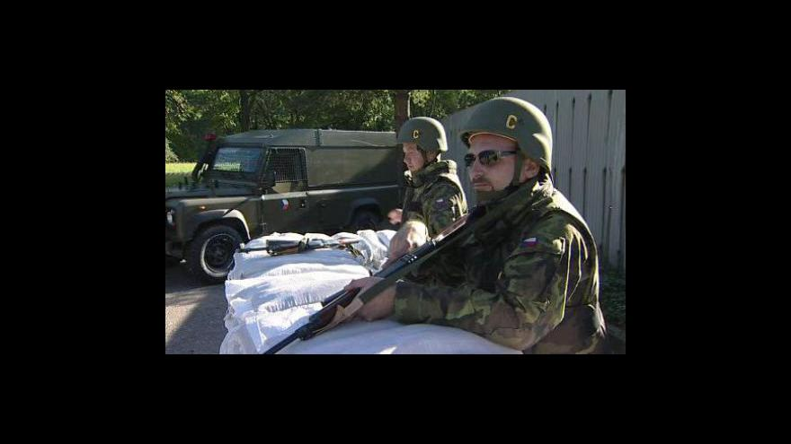 Video NO COMMENT - Cvičná vojenská mobilizace v Loukově