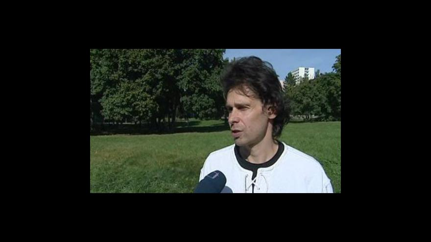 Video Člen občanského sdružení Lesná Martin Maleček o budoucnosti Obzoru
