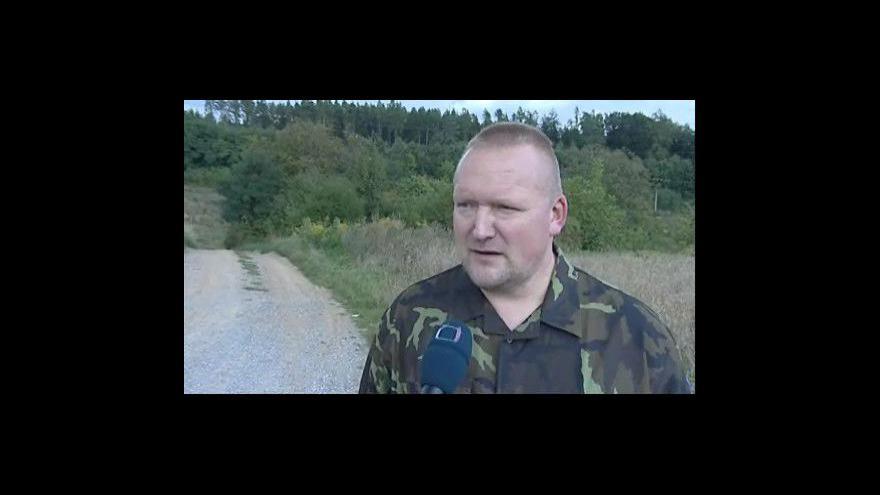 Video Mluvčí Vojenského velitelství výcviku ve Vyškově Pavel Kočvara k propouštění zaměstnanců